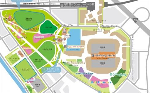 201911grandberryparkareamap